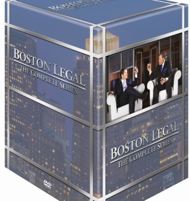 Anmeldelse: Boston Legal – the complete series (DVD)