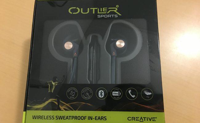 Test: Creative Outlier Sports Wireless Sweatproof in-ears