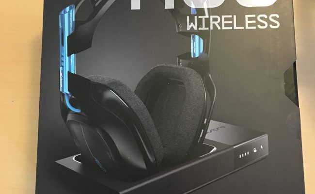 Test: Astro A50 + base station trådløst gaming headset