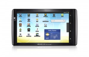 ARCHOS 101 it face home screen 300x192 ARCHOS 101 Internet Tablet