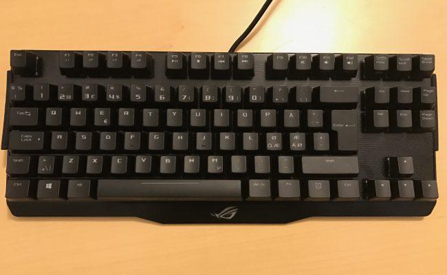 Test: ASUS ROG Claymore Core mekanisk gaming tastatur