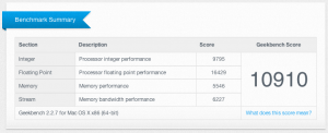 Before Geekbench 300x122 Opgrader RAM i din MacBook Pro