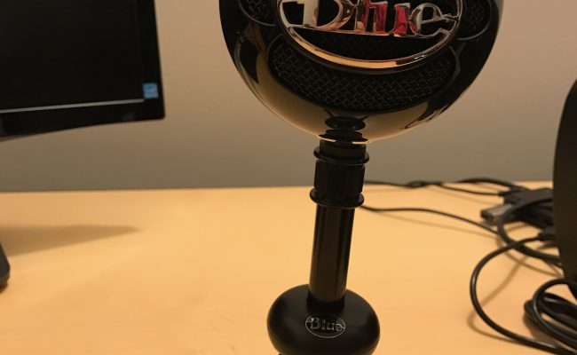Test: Blue Snowball mikrofon