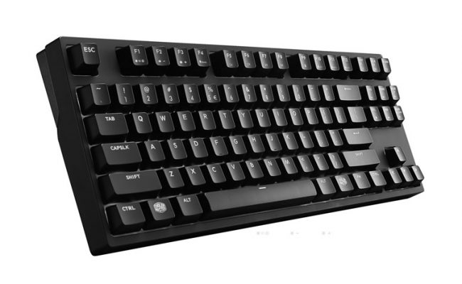 Test: Cooler Master Masterkeys Pro S gaming tastatur