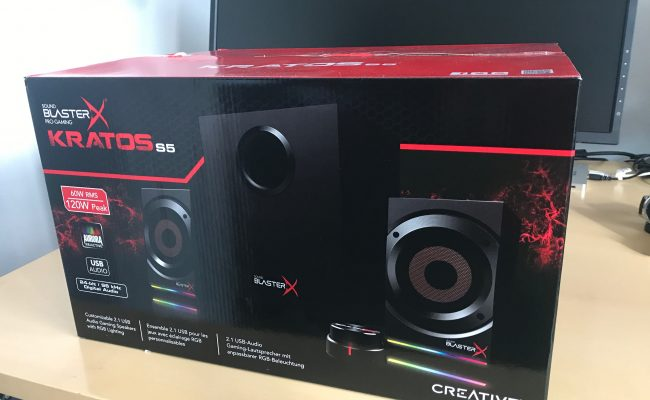 Test: Creative Sound BlasterX Kratos S5 PC højtalere