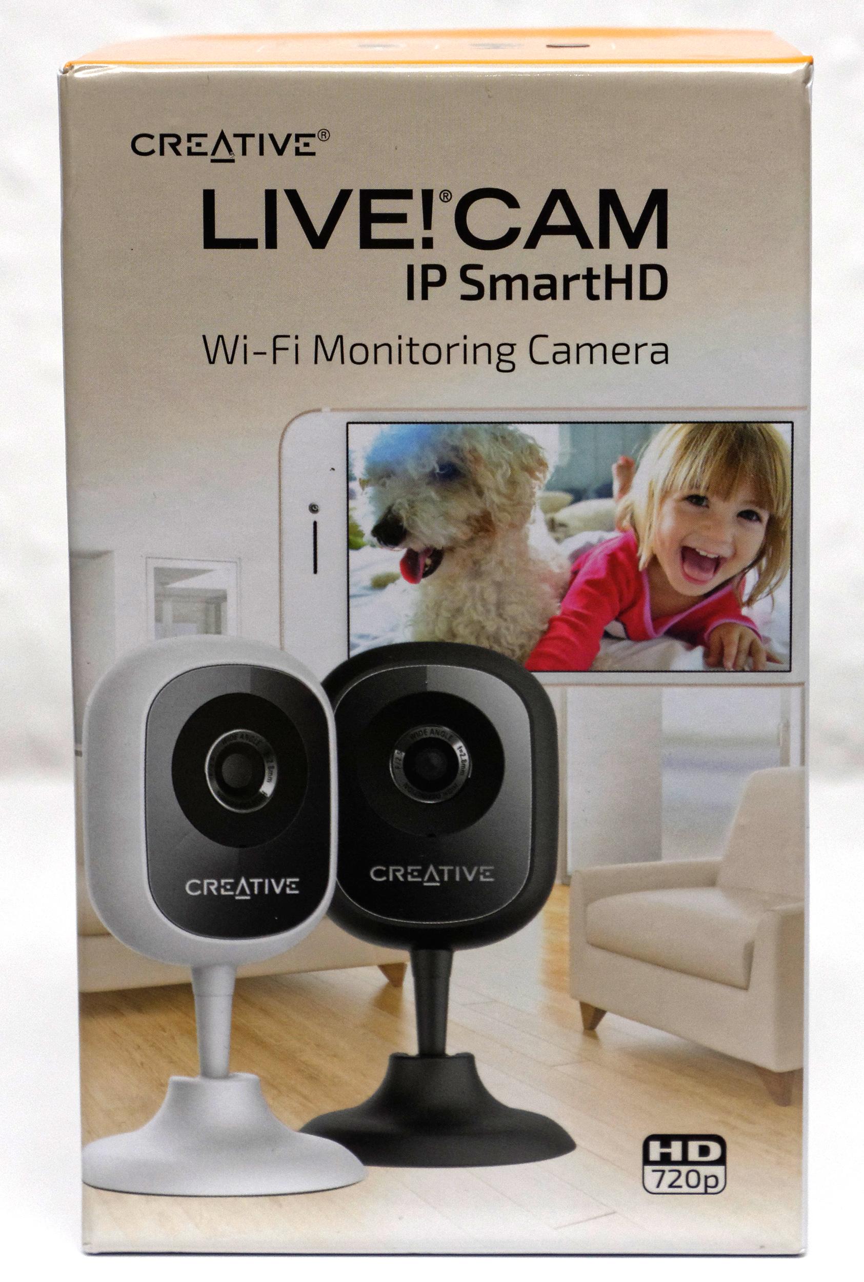 test creative live cam ip smarthd. Black Bedroom Furniture Sets. Home Design Ideas