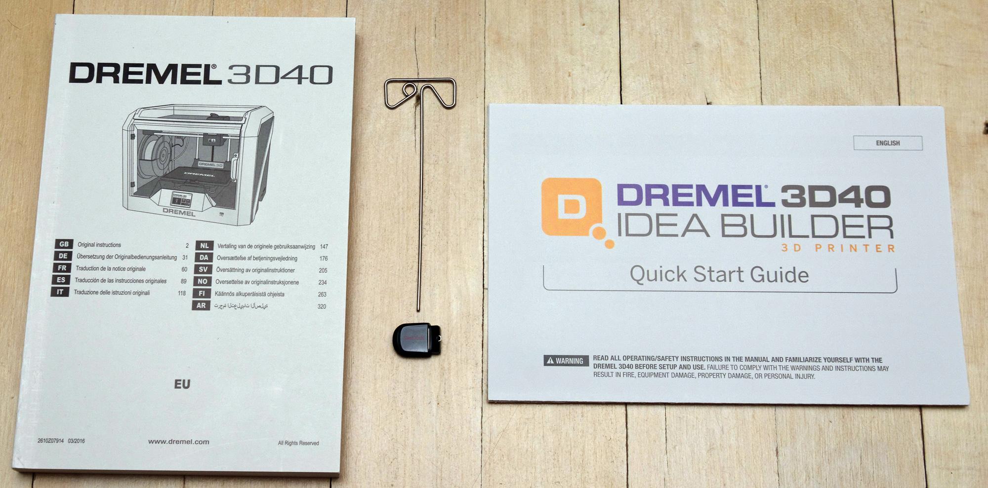 test dremel 3d40 idea builder 3d printer. Black Bedroom Furniture Sets. Home Design Ideas