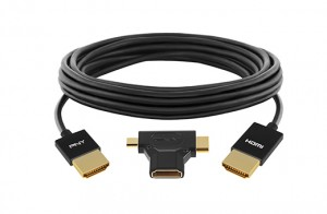HDMI 3in1 Coil 300x196 PNY Smart Active HDMI 3 in 1 kabel