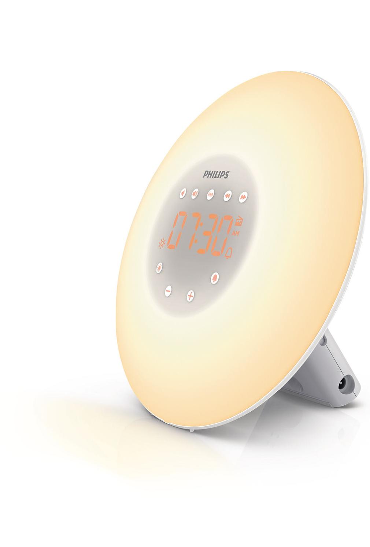 billig vækkeur med lys