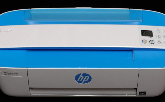 Test: HP Deskjet 3720