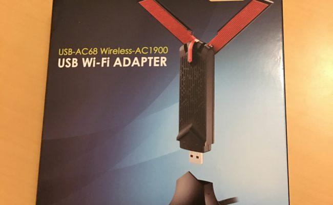 Test: ASUS USB-AC68