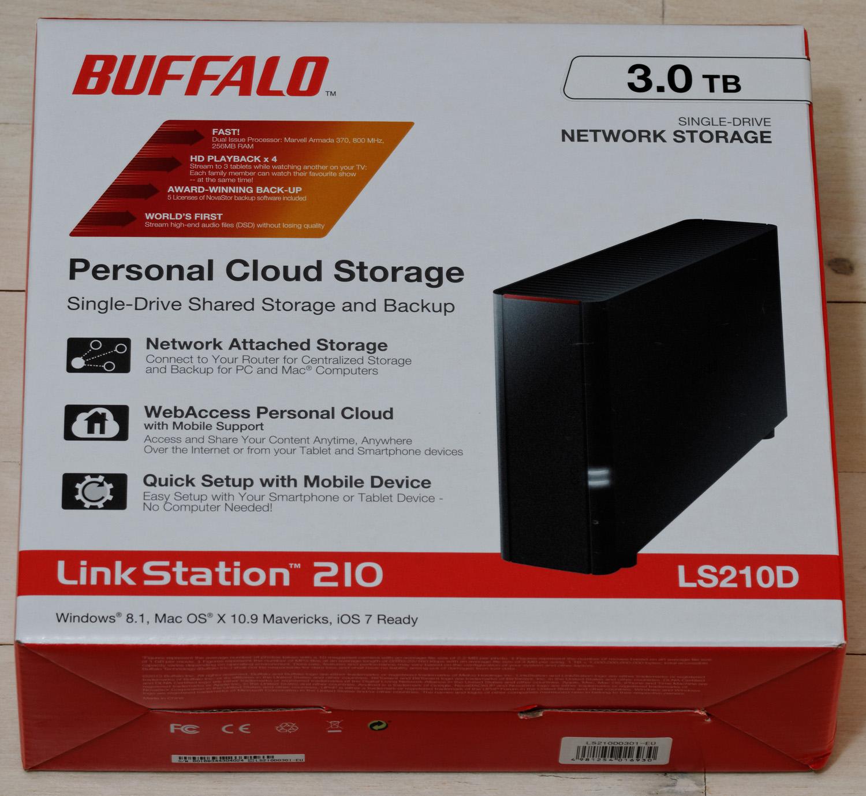Anmeldelse Buffalo LinkStation 210