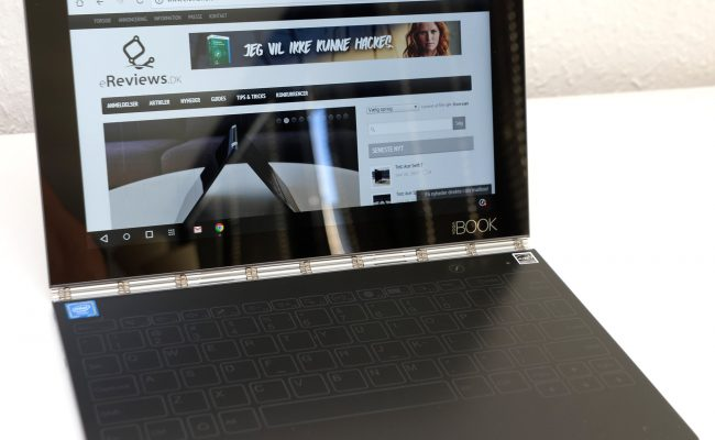 Test: Lenovo Yoga Book med Android