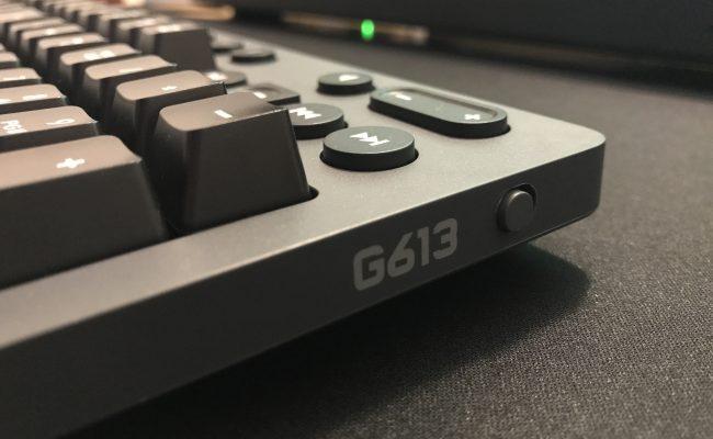 Test: Logitech G613 trådløst mekanisk gaming tastatur