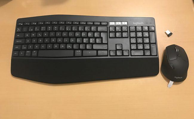 Test: Logitech MK850 Performance tastatursæt