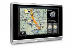 NAVIGON 8450 left en 300x198 Review: Navigon 8450 Live Sat Nav