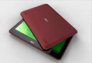 PicassoE metallic cherry red 0909  300x204 Acer lancerer ICONIA TAB A200