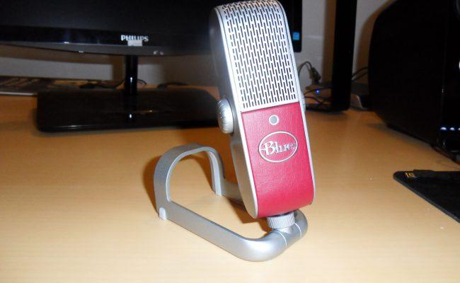 Test: Blue Raspberry mikrofon