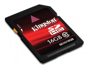 SDHC10 16GB blk angle 300x235 Review: Kingston Secure Digital 16GB (Class 10)