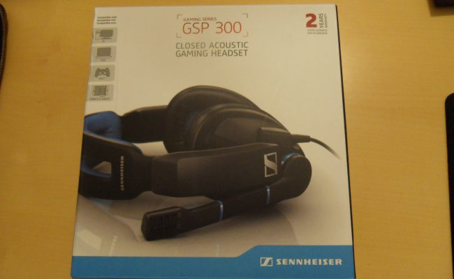 Test: Sennheiser GSP 300 Acoustic Closed gaming headset