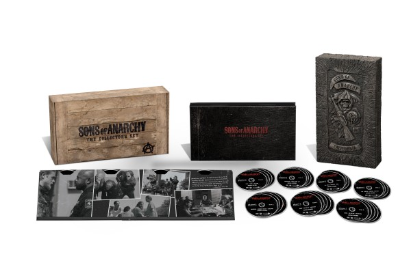 Sons of Anarchy s1-s7 - Woodbox