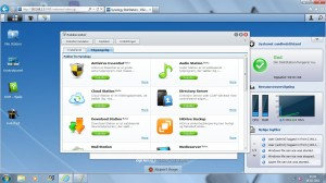dsm40 pakkecenter 300x168 Synology DiskStation DS212j
