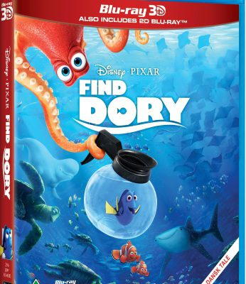 Anmeldelse: Finding Dory (Blu-ray)