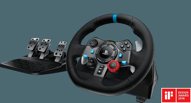 Test: Logitech G29 Driving Force racerrat med G Shifter