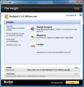 norton is 2010 fileinsight1 288x300 Anmeldelse: Norton Internet Security 2010