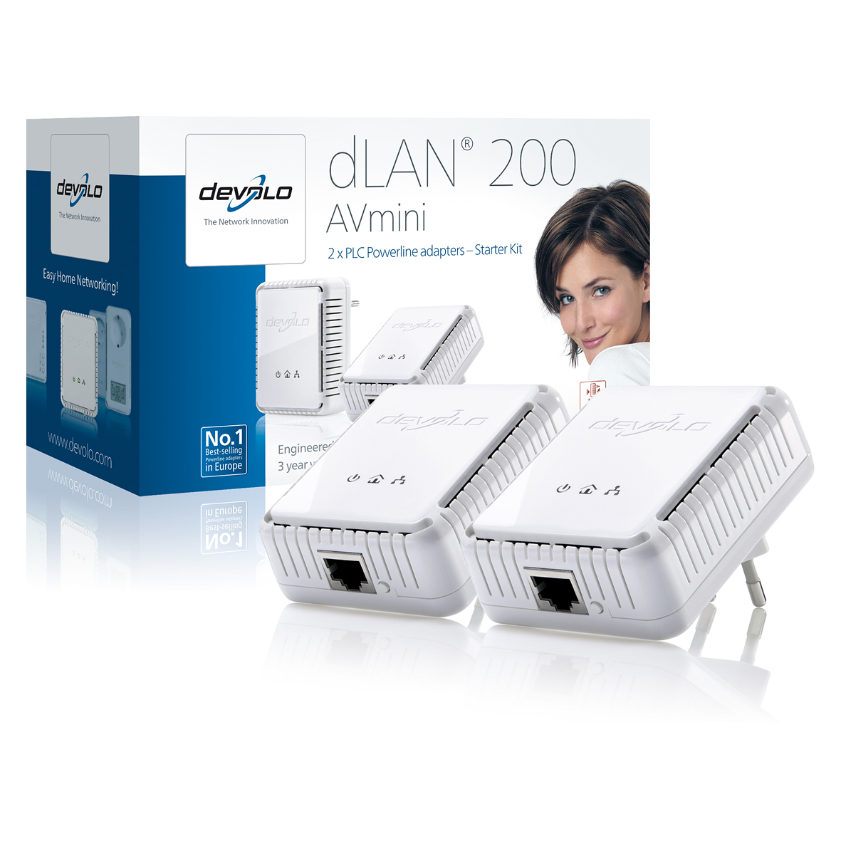 the dlan 200 avmini from devolo The devolo dlan 200 avsmart+ is a great copywriters' tool the well-made devolo powerline networking equipment offers a secure alternative to wireless – or enables you to reach corners of a property where wireless just can't reach.