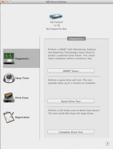 wddriveutilities1 229x300 Western Digital My Passport for Mac 1TB