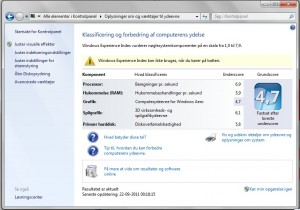 windows experience 7 300x210 Toshiba Satellite R830 17N