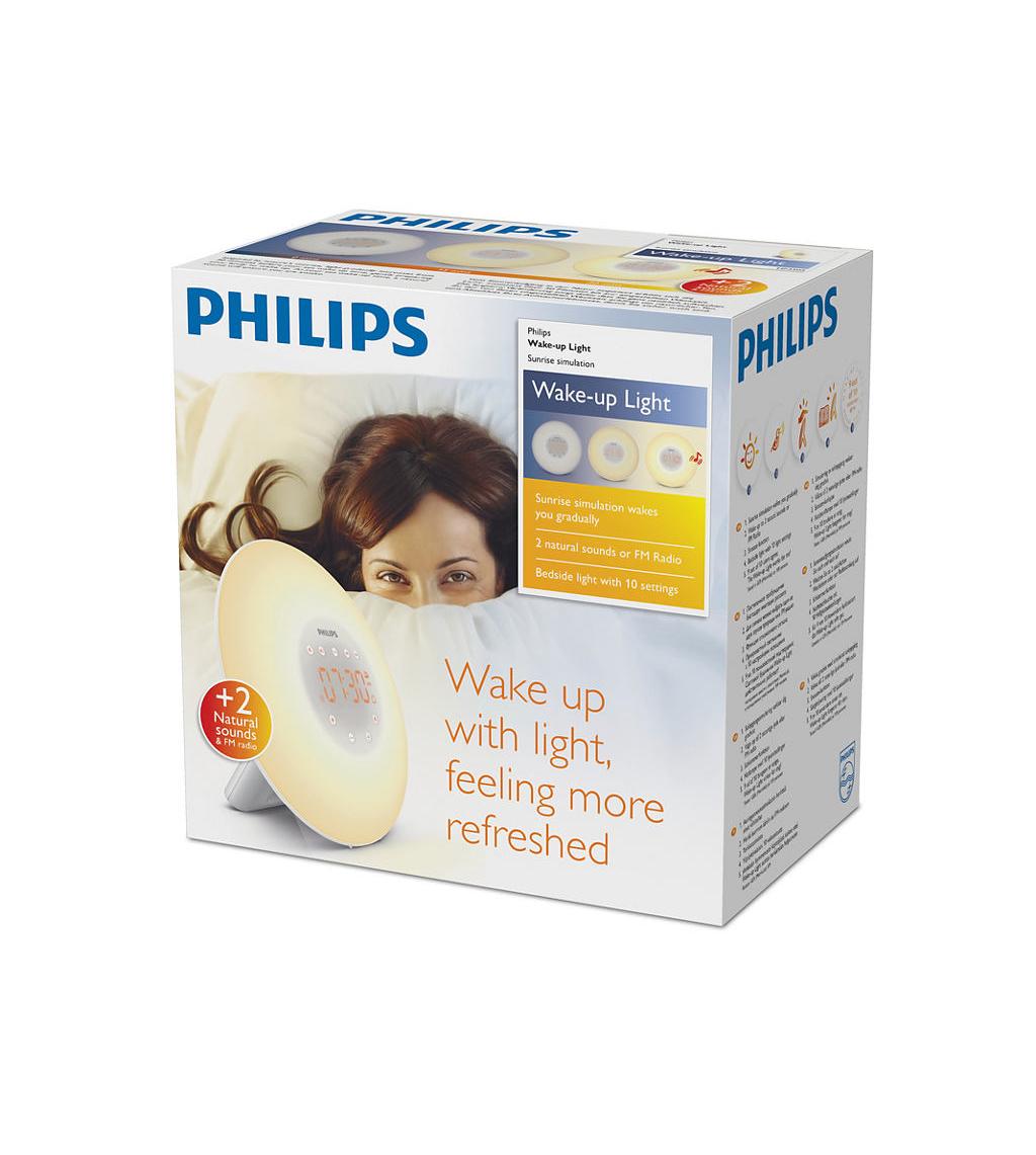 Anmeldelse: Philips Wake Up Light HF3505   eReviews.dk