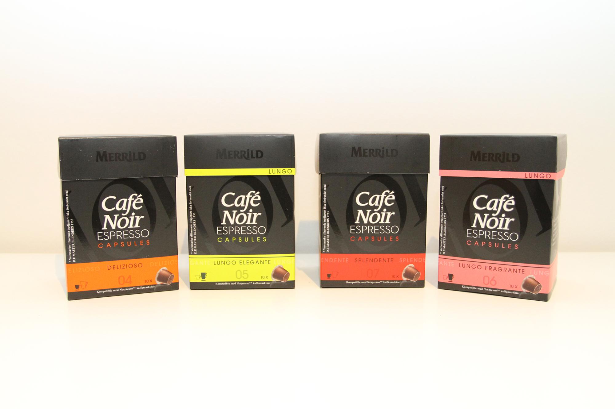 Kaffekapsler til nespresso