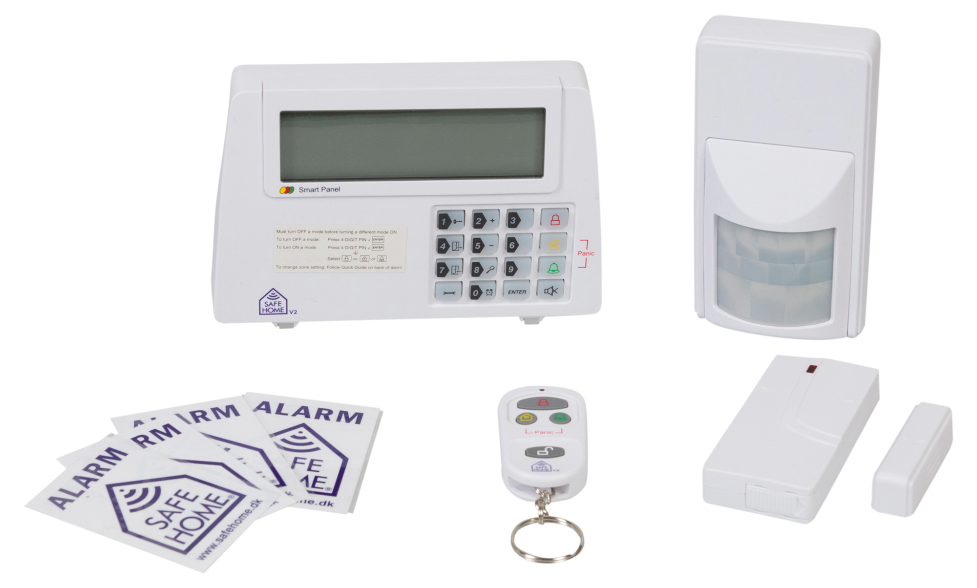 Groovy Anmeldelse: SafeHome Wireless Alarm Kit WS500S V2   eReviews.dk JD85